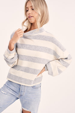 Ziggy Stripe Top -  ShopatGrace.com