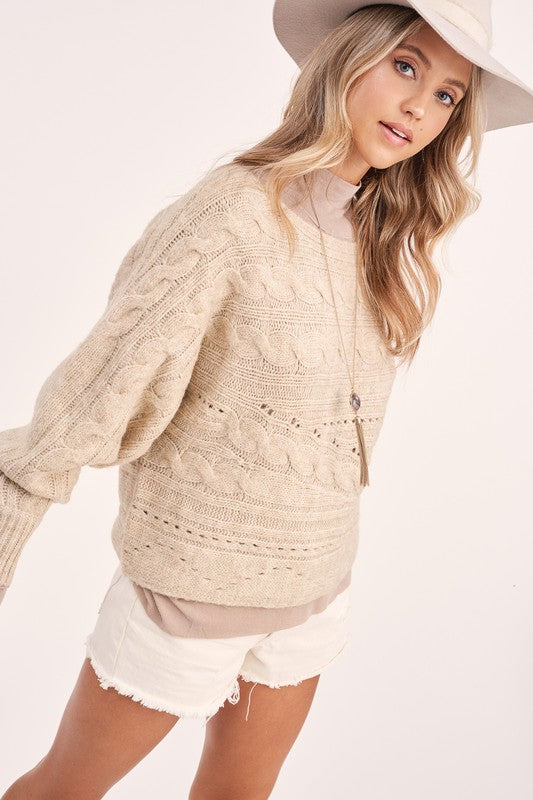 Presley Knit Sweater -  ShopatGrace.com