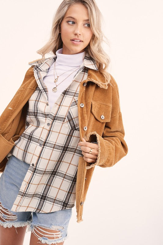 Encore Plaid Shirt -  ShopatGrace.com