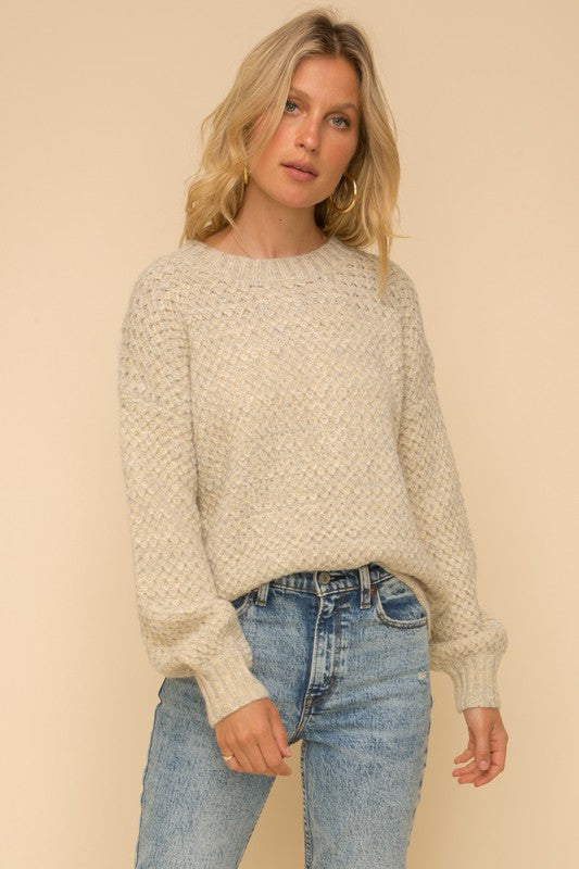 Pastel Textured Sweater -  ShopatGrace.com