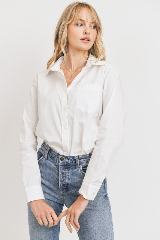 Boyfriend Button Down -  ShopatGrace.com