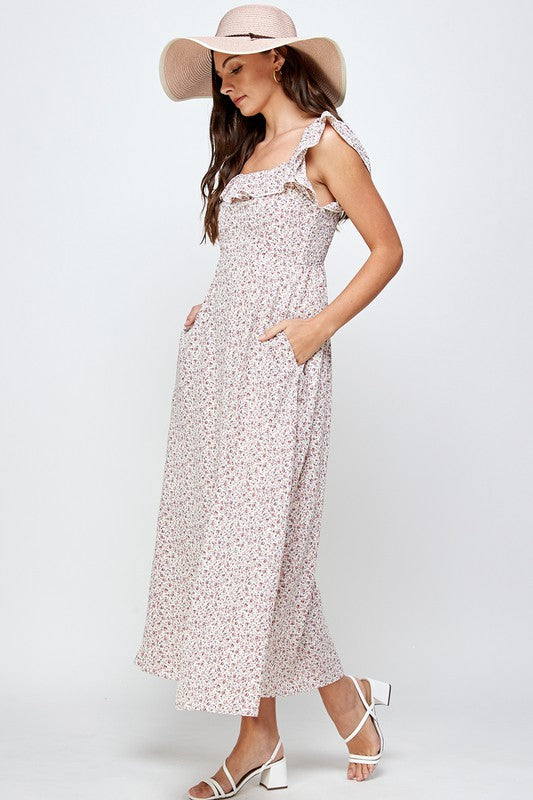 Floral Maxi Dress -  ShopatGrace.com