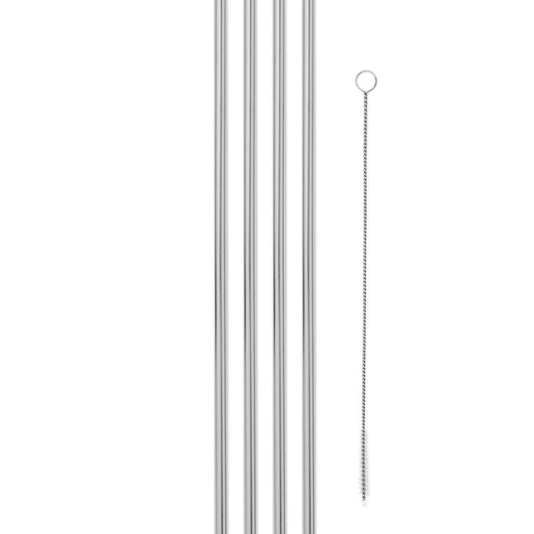 10 inch Metal Straw Set -  ShopatGrace.com