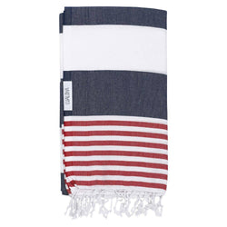 Goodness Towel - OS / NAVY/RED ShopatGrace.com