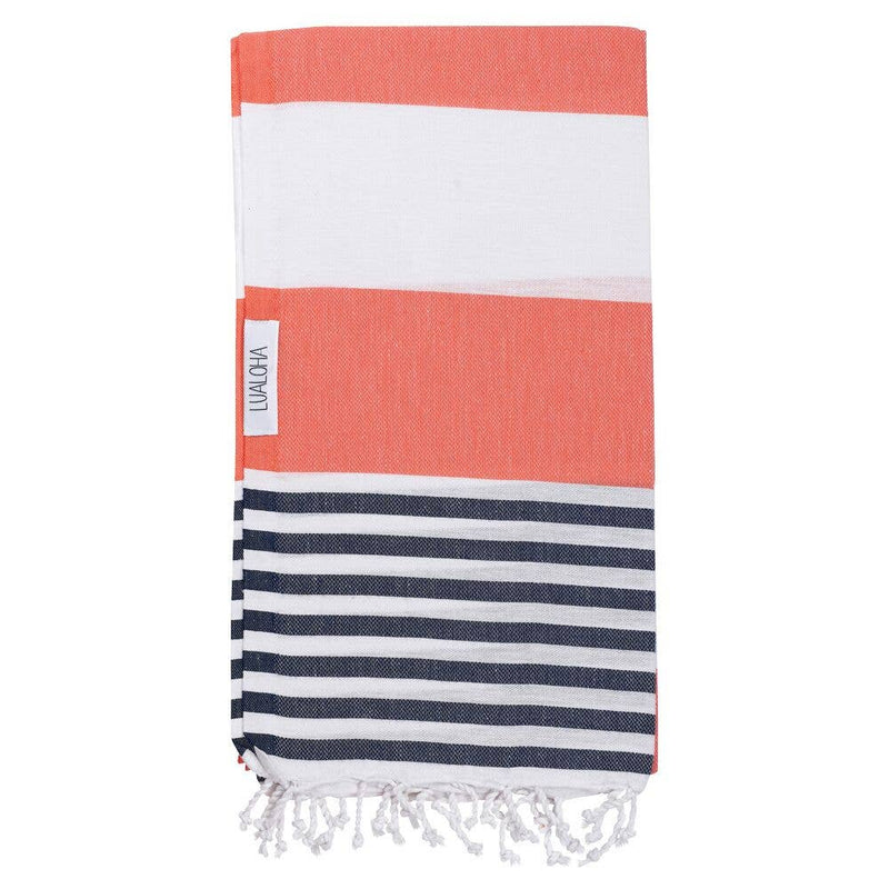 Goodness Towel - OS / NAVY/CORAL ShopatGrace.com