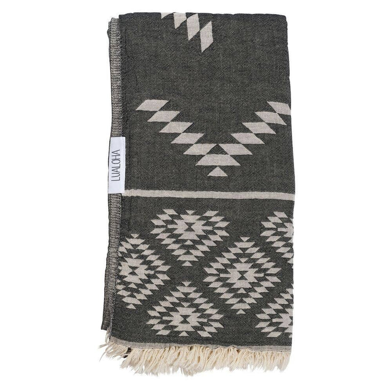 Luxury Tribe Towel - OS / Black ShopatGrace.com