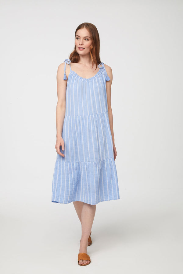 Willa Dress - XS / DAY SKY ShopatGrace.com