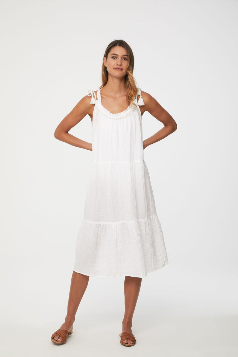 Willa Dress - XS / WHITE ShopatGrace.com