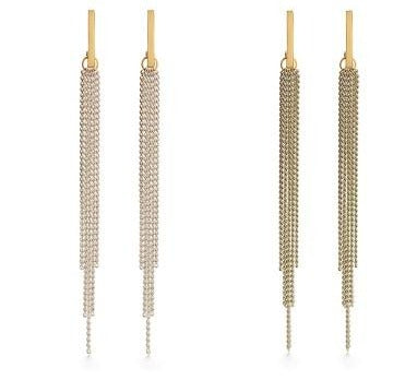 Chain Duster Studs - OS / Tan ShopatGrace.com