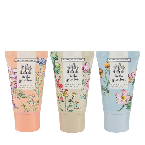 In The Garden Hand Cream Trio -  ShopatGrace.com