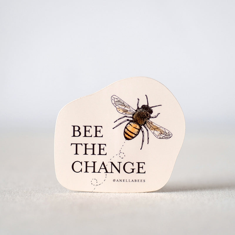 Bee the Change Sticker -  ShopatGrace.com
