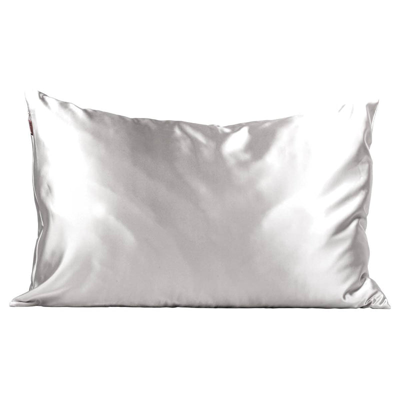 Silver Satin Pillowcase -  ShopatGrace.com