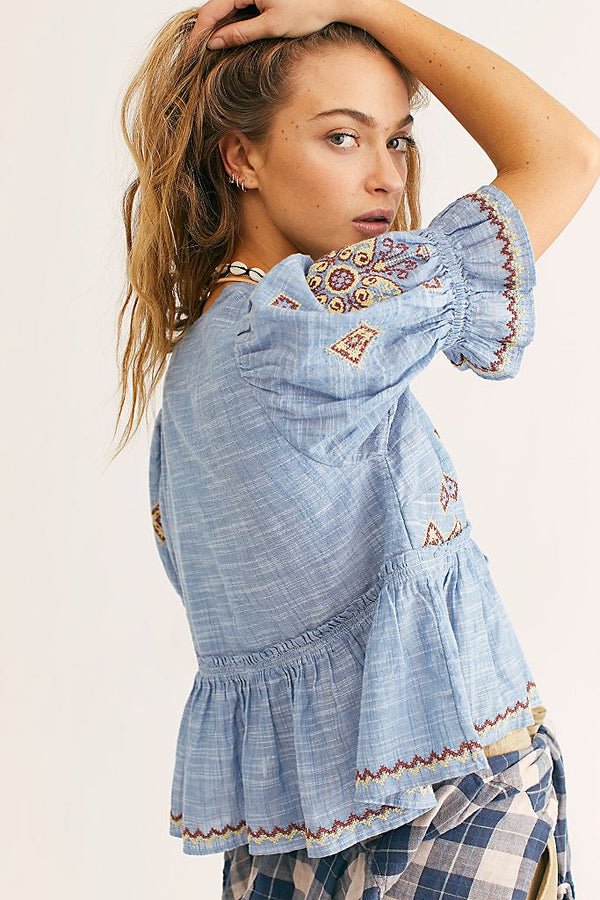 Tallulah Embroidered Blouse
