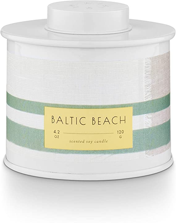 Baltic Beach Tin Candle -  ShopatGrace.com