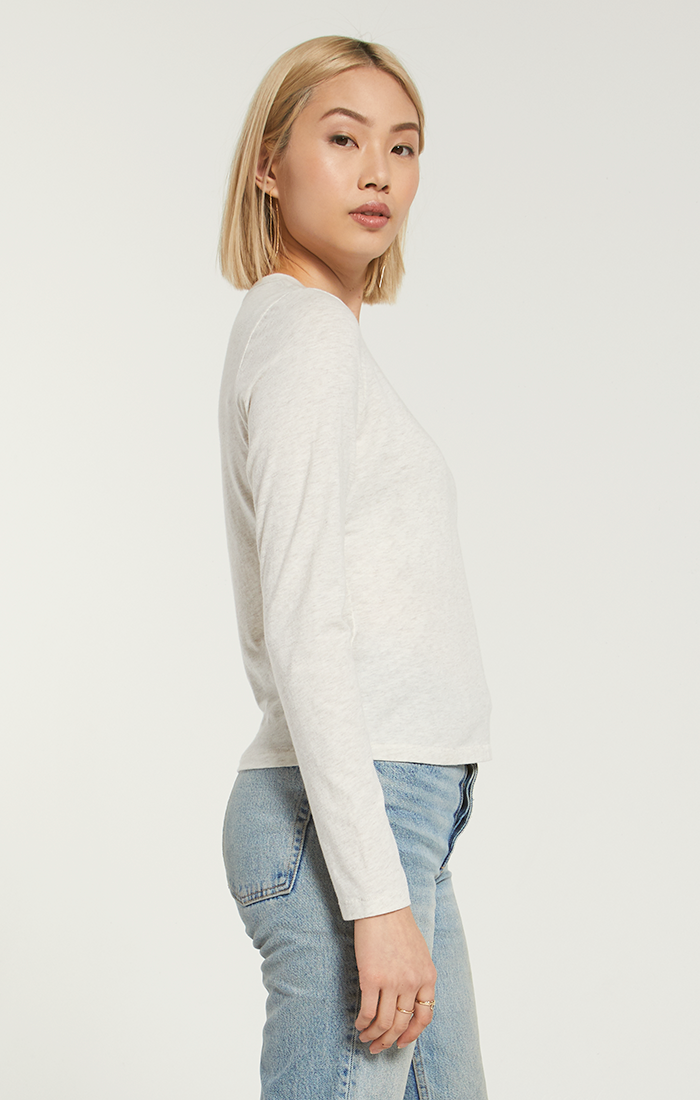 Modern Heather Jersey Long Sleeve -  ShopatGrace.com