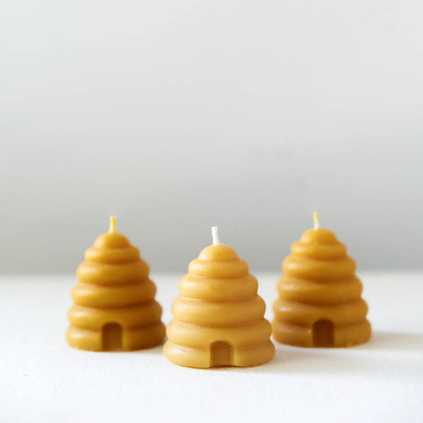 Beehive Votives – Pure Beeswax Candles -  ShopatGrace.com