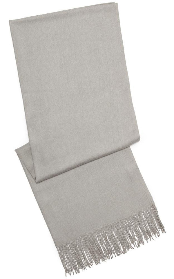 Soft Cashmere Pashmina - OS / Light Grey ShopatGrace.com