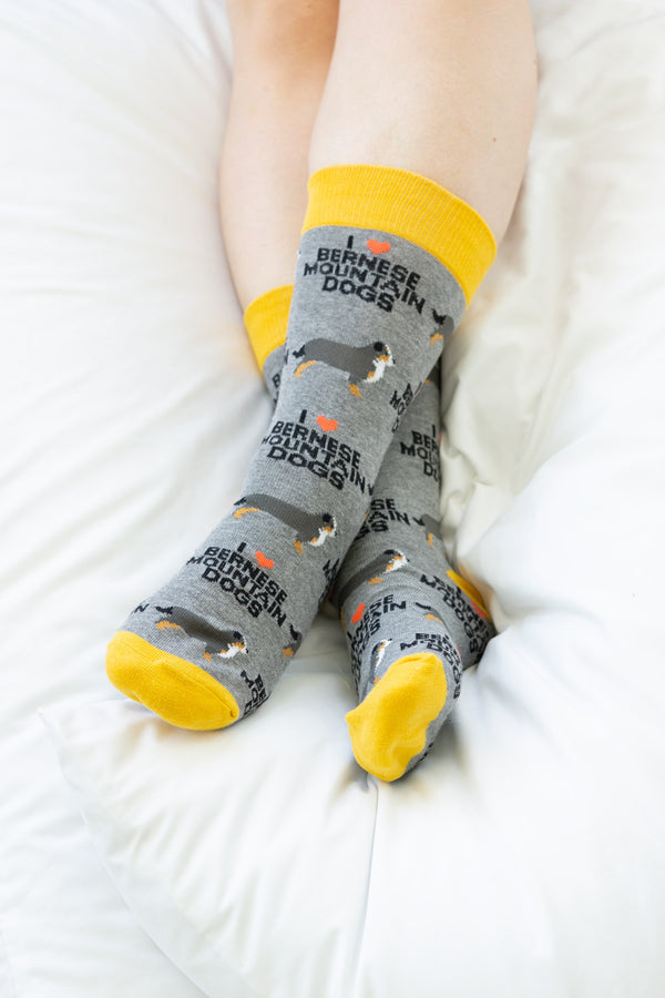 Bernese Mountain Dog Socks -  ShopatGrace.com