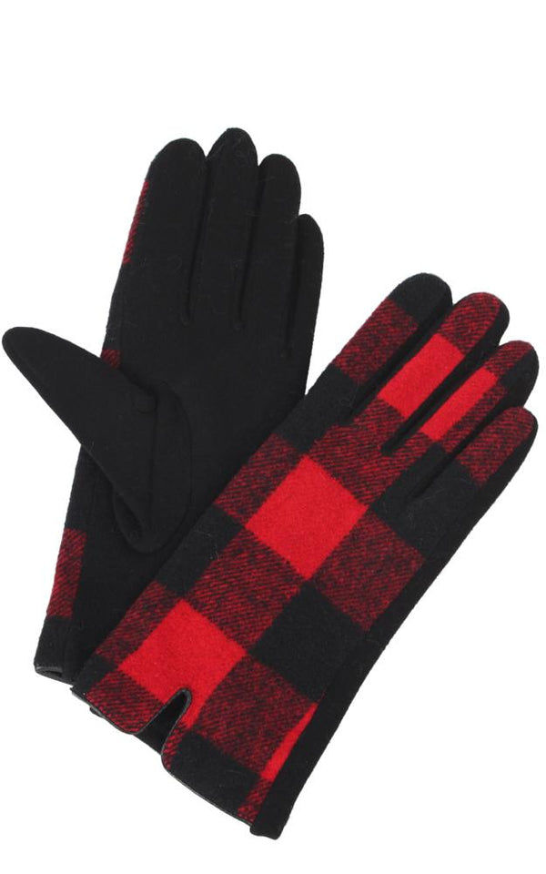 Buffalo Plaid Glove -  ShopatGrace.com