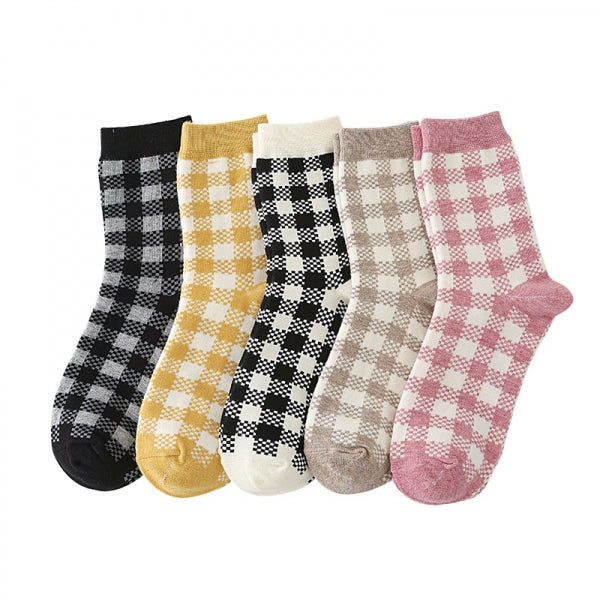 Buffalo Plaid Pattern Socks -  ShopatGrace.com