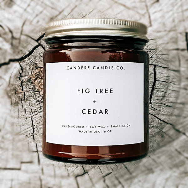 Fig Tree + Cedar Candle -  ShopatGrace.com