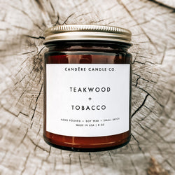 Teakwood + Tobacco Candle -  ShopatGrace.com