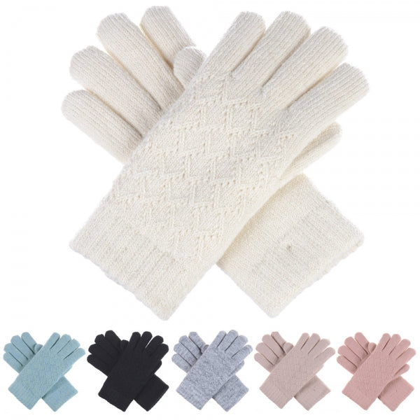Pointelle Lined Gloves -  ShopatGrace.com