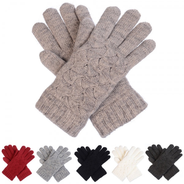 Cable Knit Gloves -  ShopatGrace.com