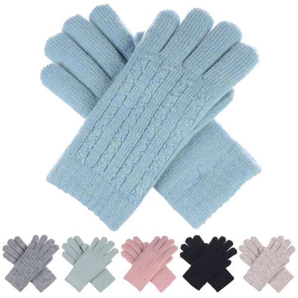 Tiny Twist Cable Knit Gloves -  ShopatGrace.com