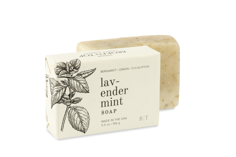 Broken Top Bar Soaps - LAV/MNT / 5.5OZ ShopatGrace.com