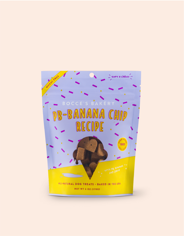 PB-Banana Chip Soft & Chewy Treats