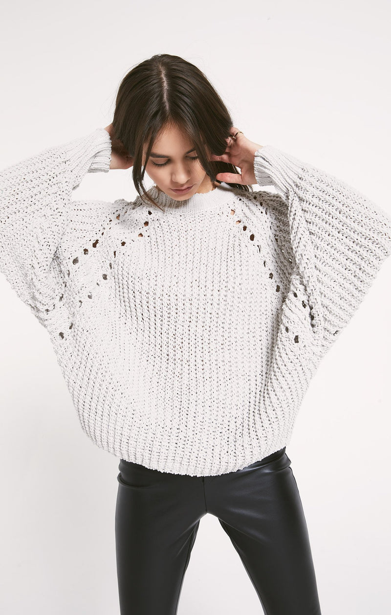 Promenade Sweater - XS / Grey ShopatGrace.com