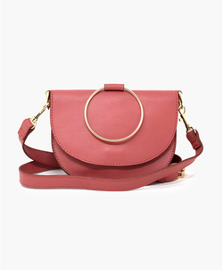 Fozi Slim Satchel - ROSE / OS ShopatGrace.com