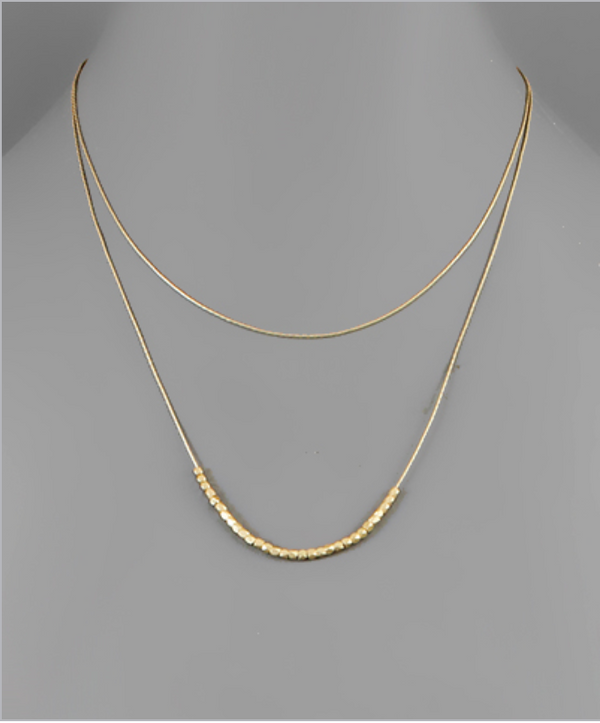 Chain Layered Necklace -  ShopatGrace.com