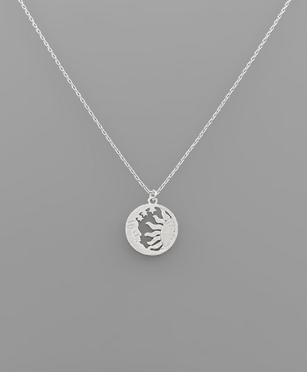 Sun and the Moon Necklace