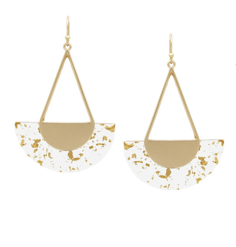 Teardrop Geometric Earrings -  ShopatGrace.com