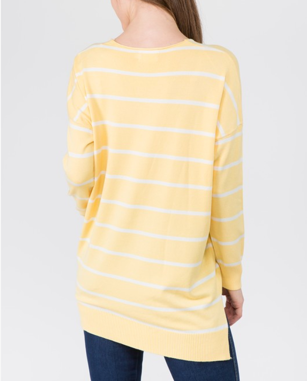 Stripe Cozy Sweater -  ShopatGrace.com