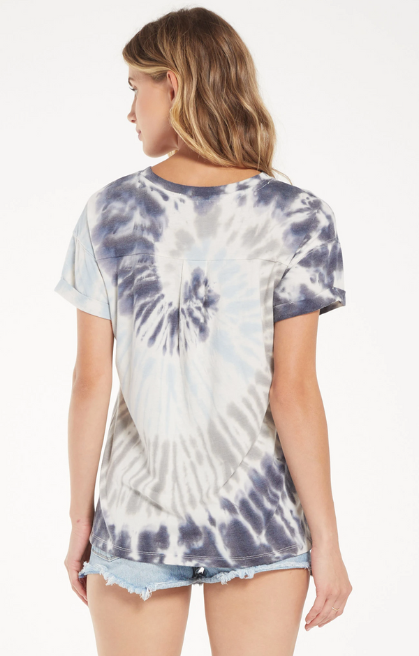 Multi Color Tie Dye Tee -  ShopatGrace.com
