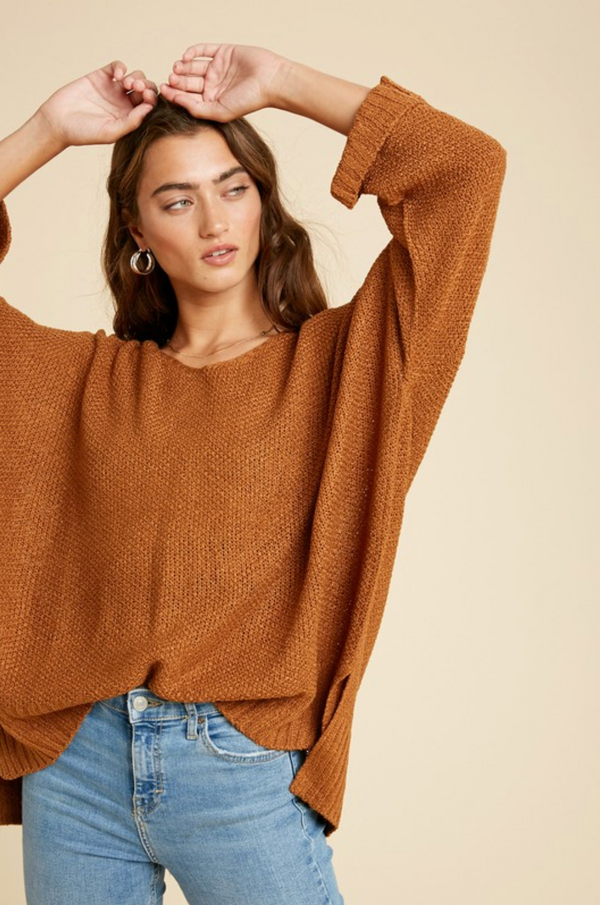 Everyday Pullover - SM / BUTTERSCOTCH ShopatGrace.com