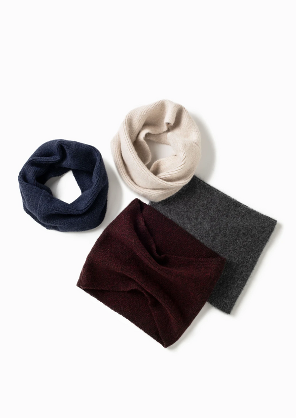 Basic Neck Warmer - OS / Plum ShopatGrace.com