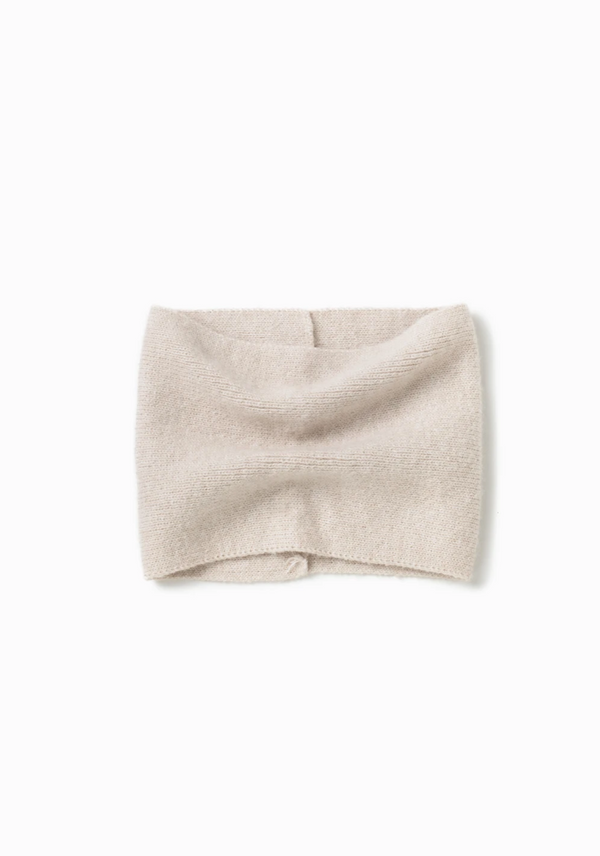 Basic Neck Warmer - OS / Ivory ShopatGrace.com