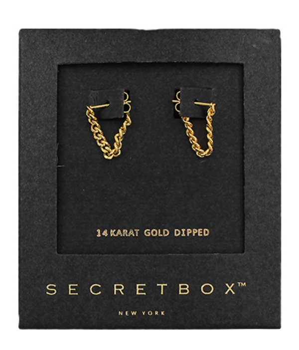 U Chain Drop Earrings -  ShopatGrace.com