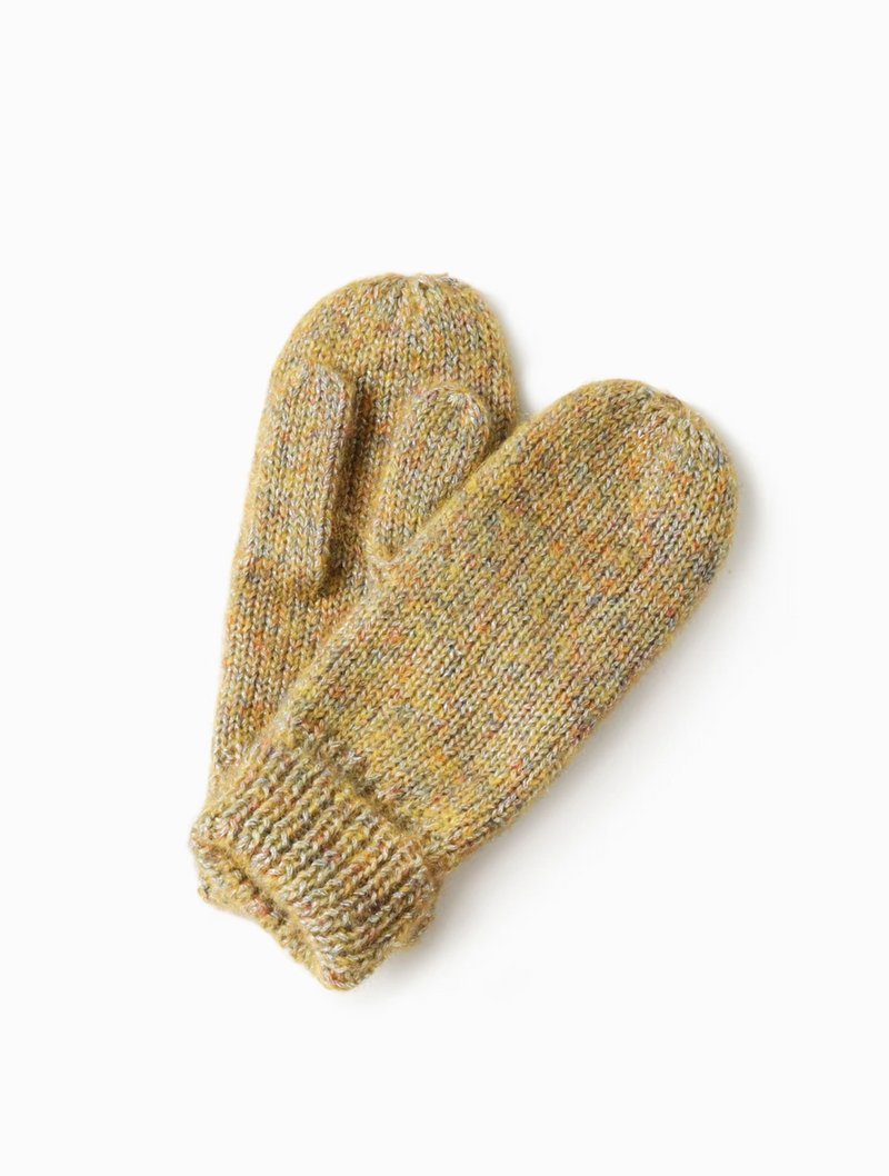 Sparkled Confetti Mittens - OS / YELLOW ShopatGrace.com