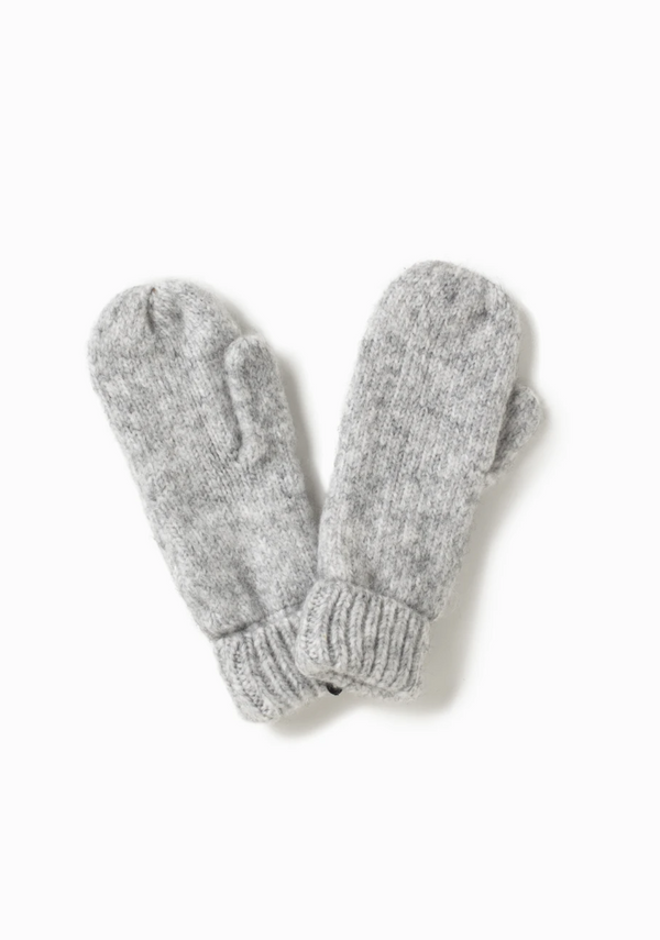 Confetti Mittens - OS / Light Grey ShopatGrace.com