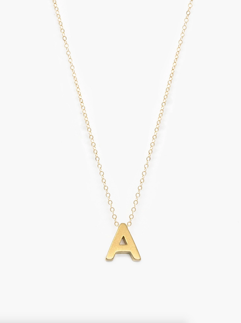 Able Letter Necklace -  ShopatGrace.com