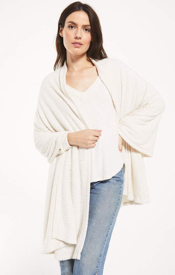Kinsey Feather Wrap -  ShopatGrace.com