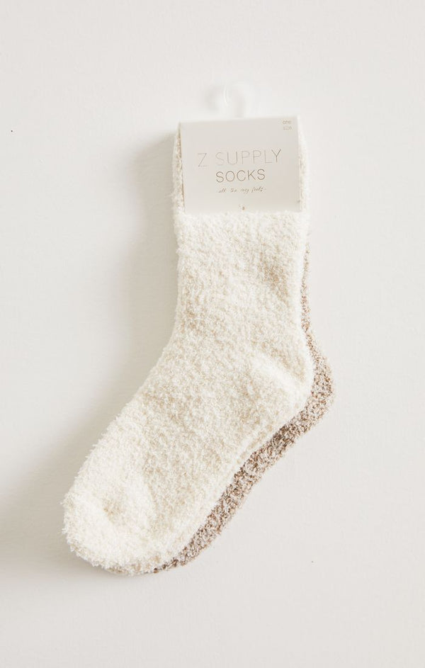 2 Pack Plush Socks -  ShopatGrace.com