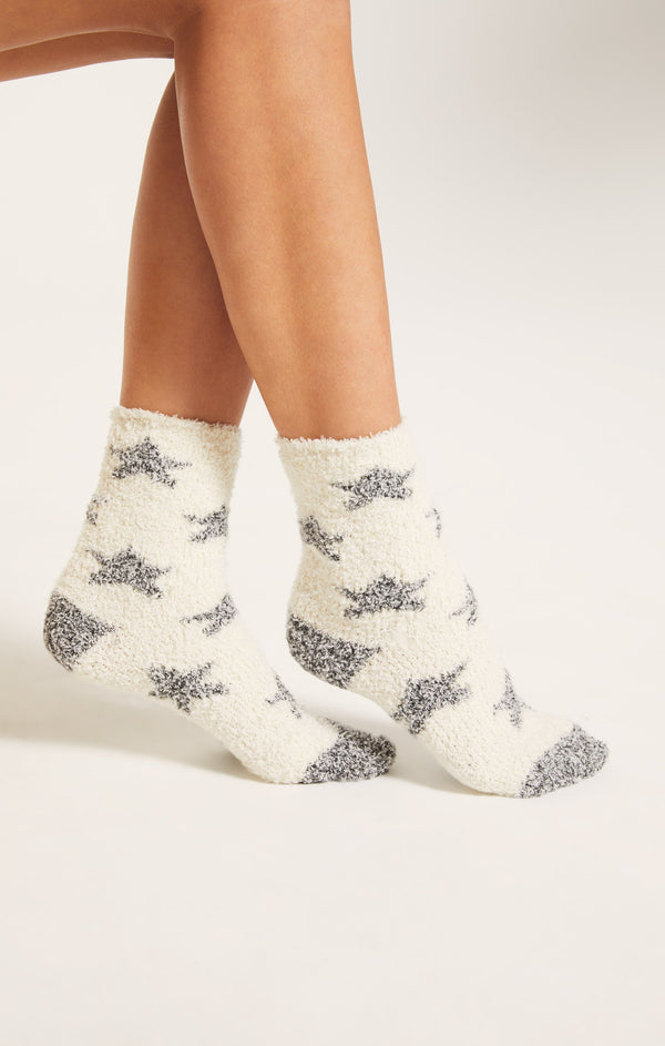 Star Plush Socks -  ShopatGrace.com