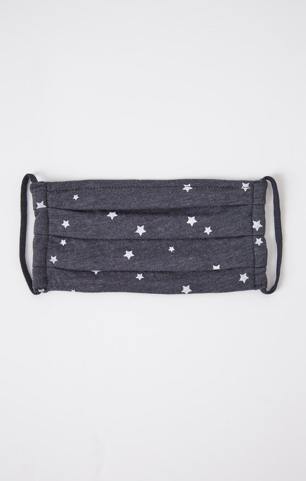 Tiny Star Adult Mask - Dusty Navy ShopatGrace.com