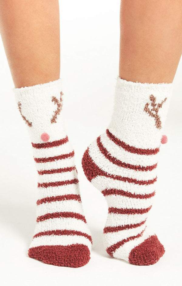 Deer Plush Socks -  ShopatGrace.com